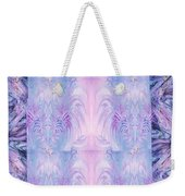 Floral Abstract Design-special Silk Fabric Weekender Tote Bag