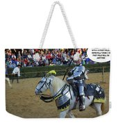 10 Foot Pole Weekender Tote Bag