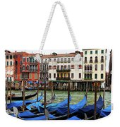 Gondola, Canals Of Venice, Italy Weekender Tote Bag