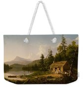 Home In The Woods Weekender Tote Bag