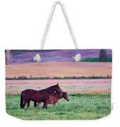 Horses Of The Fall Weekender Tote Bag
