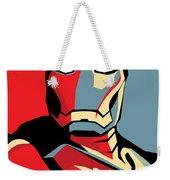 Iron Man Weekender Tote Bag by Caio Caldas