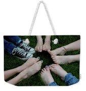 10 Kids Feet Weekender Tote Bag
