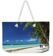 Main Beach Of Tropical Paradise Boracay Island Philippines Weekender Tote Bag