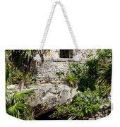 Mayan Temples At Tulum, Mexico Weekender Tote Bag