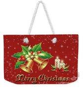 Christmas Card 9 Weekender Tote Bag