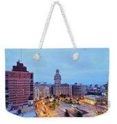 Montevideo, Uruguay Weekender Tote Bag
