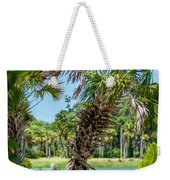 Palmetto Forest On Hunting Island Beach Weekender Tote Bag