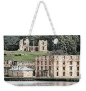 Port Arthur Building In Tasmania, Australia. Weekender Tote Bag