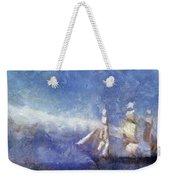 Ships Ahoy Weekender Tote Bag