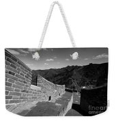 The Great Wall Of China Near Jinshanling Village, Beijing Weekender Tote Bag