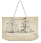 U.s. Coast Guard Cutter Northland Weekender Tote Bag
