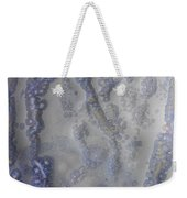 10. V1 Speckled Blue And Yellow Glaze Painting Weekender Tote Bag