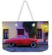 Vintage Car In Colonia Del Sacramento, Uruguay Weekender Tote Bag