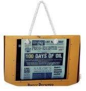 100 Days Of Oil Weekender Tote Bag