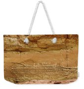 100 Hands Pictograph Panel Weekender Tote Bag