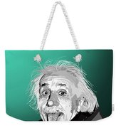 100. Imagination Is More Important Than Knowledge Weekender Tote Bag