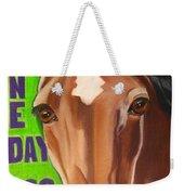 100 Mile Horse Weekender Tote Bag