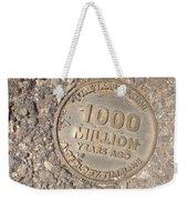 1000 Million Years Ago Weekender Tote Bag