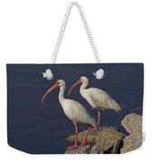 100b5790 White Ibis Weekender Tote Bag