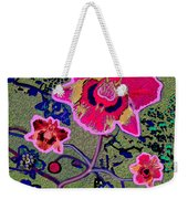 1046 - Pink Flower Simple Greeting Card   A Weekender Tote Bag