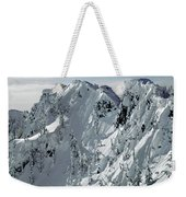 104726 Cornices On Denny Mountain Weekender Tote Bag