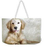 Dog Weekender Tote Bag