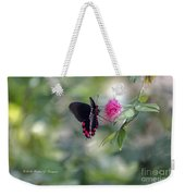 Butterfly Weekender Tote Bag by Richard J Thompson