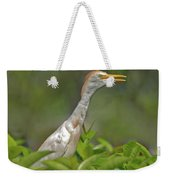 11- Cattle Egret Weekender Tote Bag