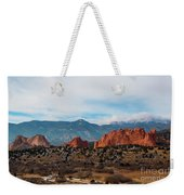 Garden Of The Gods And Pikes Peak Weekender Tote Bag