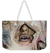 Hidden Face With Lipstick Weekender Tote Bag