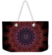 Kaleidoscope Image Created From Light Trails Weekender Tote Bag