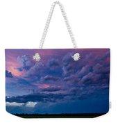 Nebraska Hp Supercell Sunset Weekender Tote Bag