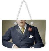 Oscar Wilde (1854-1900) Weekender Tote Bag
