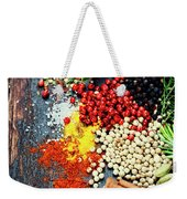 Spices And Herbs Weekender Tote Bag