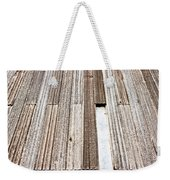 Wooden Panels Weekender Tote Bag