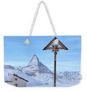 Zermatt - Switzerland Weekender Tote Bag