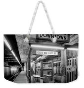 110th Street And Lenox Avenue Station - New York City Weekender Tote Bag