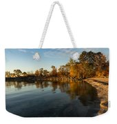 Autumn Beach - The Splendor Of Fall On The Shores Of Lake Ontario Weekender Tote Bag