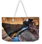 1118 Down River Weekender Tote Bag
