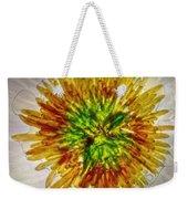 11262 Flower Abstract Series 02 #16a Weekender Tote Bag