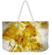 11265 Flower Abstract Series 02 #18 - Carnation 2 Weekender Tote Bag