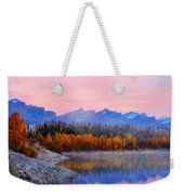 Nature Art Original Landscape Paintings Weekender Tote Bag