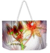 11305 Flower Abstract Series 03 #5 Weekender Tote Bag