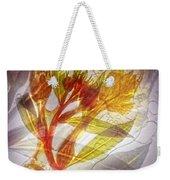 11315 Flower Abstract Series 03 #13 Weekender Tote Bag