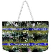 11362 Child Of The Universe With Lyrics By Barclay James Harvest Weekender Tote Bag