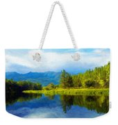 Landscape Definition Nature Weekender Tote Bag