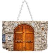 1164 Assisi Italy Weekender Tote Bag