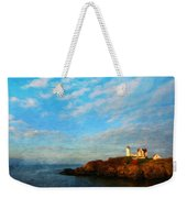 Nature Landscape Oil Painting Weekender Tote Bag