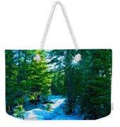 Nature Art Landscape Canvas Art Paintings Oil Weekender Tote Bag